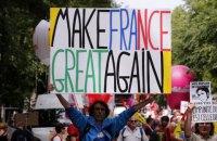 Десятки тысяч французов вышли на протест против реформ Макрона
