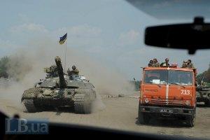 Силы АТО подбили два танка из прорвавшейся колонны