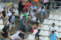 УЕФА условно дисквалифицировал сборную России