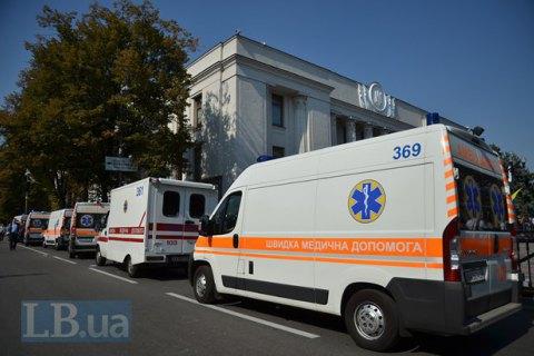 Минздрав исправил сообщение об огнестрельных ранениях у Рады (обновлено)