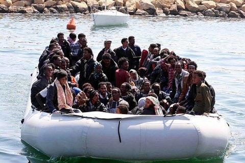 В 2017г вЕвропу морем прибыли 171 тыс мигрантов