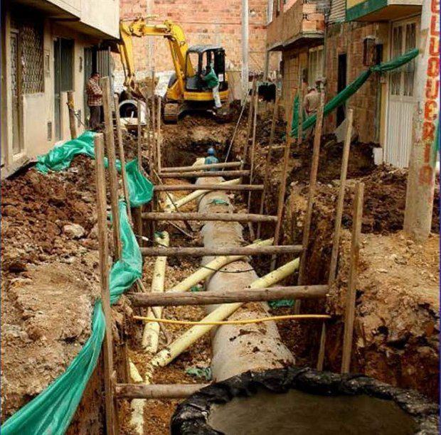 Так выглядели улицы Боготы до начала проекта