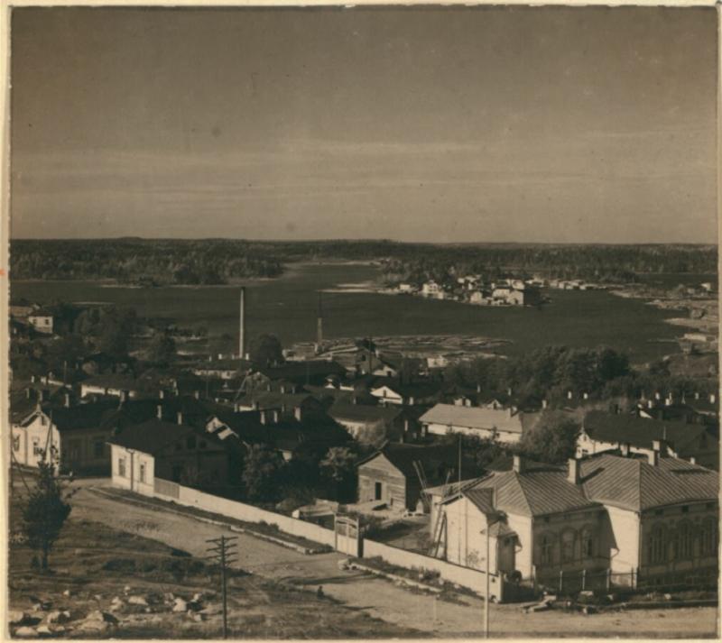 Вид на острів Пікісаарі, 1905-1915