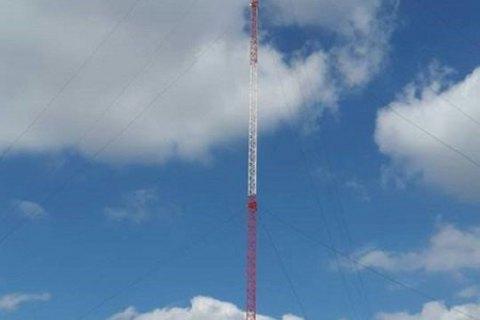 У Донецькій області збудували 190-метрову ретрансляційну телевежу