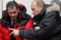 Міноборони РФ доповіло Путіну про виведення російських військ із Сирії