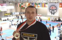 Поліцейський Луганської області став чемпіоном світу з кікбоксингу