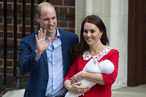 Герцогиня Кембриджская родила сына