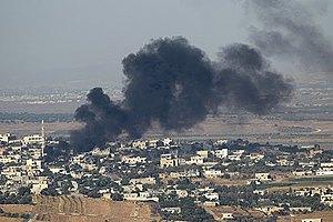 Сирійські танки обстріляли один із кварталів Дамаска, є жертви.