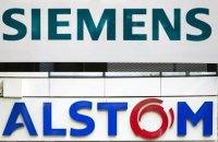 ЄС заборонив об'єднання залізничних активів Alstom і Siemens