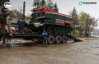Львовский бронетанковый завод модернизировал около полутора десятков пожарных танков