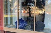 У Рівному невідомі пошкодили офіс «ЄС», в партії це пов'язують із боротьбою проти незаконних добудов