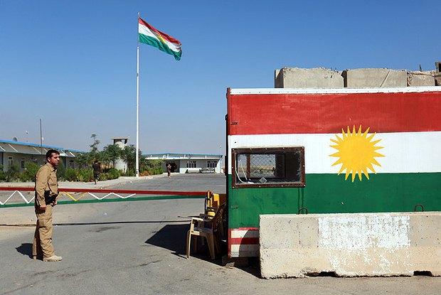 КПП около города Хазир, 40 км от г. Эрбил, столицы Курдистана