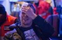 Больше 100 футбольных ультрас устроили потасовку в Киеве (обновлено)
