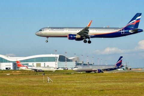 Російський літак не зміг сісти в окупованому Сімферополі з першого разу через бродячих собак