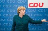 Поражение Ангелы Меркель