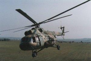 Российский военный вертолет проводил разведку в Сумской области