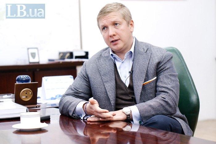 Глава НАК Андрей Коболев