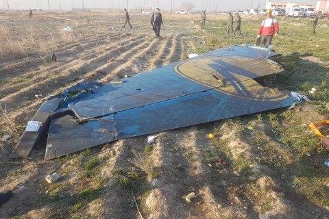Появилось видео, на котором видно попадание двух ракет в самолет МАУ