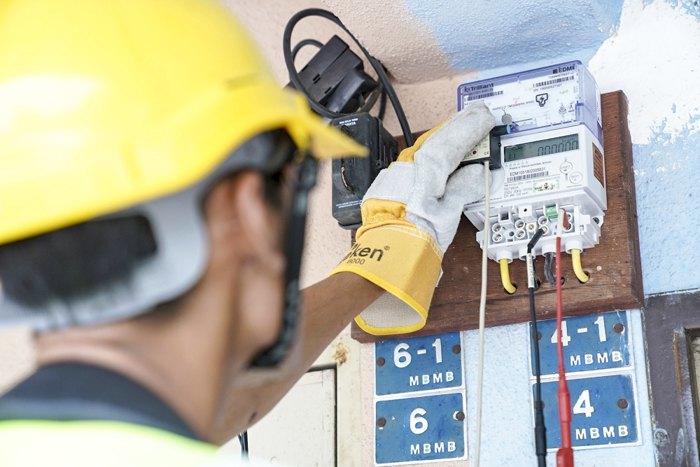 Інтелектуальні пристрої обліку електроенергії Tenaga Nasional Berhad (TNB).