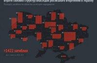 В АТО загинули 1422 військові (інфографіка)