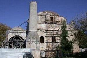 На греческом острове рухнула мечеть