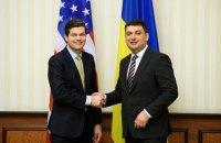 Помощник госсекретаря США Митчелл прибыл в Украину и провел встречу с Гройсманом