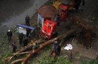 В Одессе из-за непогоды погибла женщина и пострадал ребенок