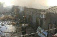 В Киеве горел Дарницкий рынок