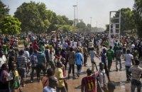 Демонстранты в Буркина-Фасо требуют отставки президента