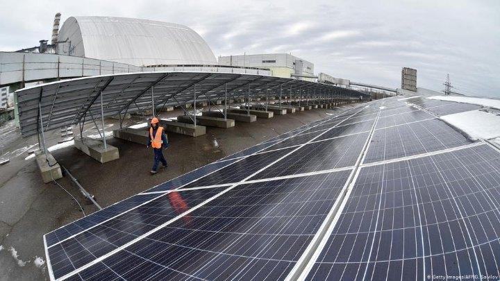 Сонячна електростанція у Чорнобильській зоні