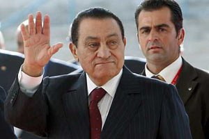 Швейцарія заморозила 700 млн дол. Мубарака
