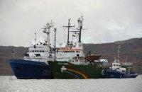 """МИД: Украинца с судна """"Arctic Sunrise"""" перевели из Мурманска в Санкт-Петербург"""