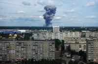 От взрыва в российском Дзержинске выбило окна в почти 100 школах и детсадах
