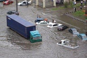 В Одессе во время потопа погиб человек
