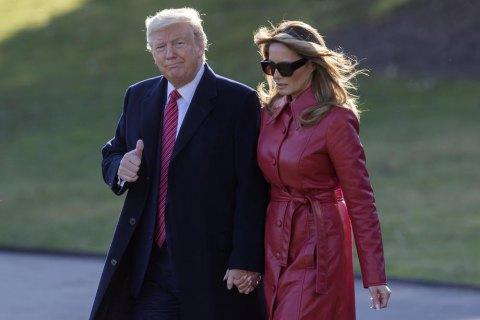 Трамп із дружиною вакцинувалися проти ковіду ще в січні, - CNN