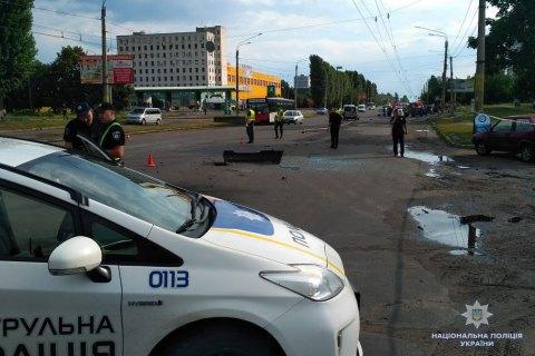 Поліція кваліфікувала вибух авто в Черкасах як умисне вбивство