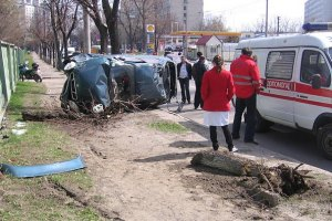 Автобус із податківцями потрапив у велику ДТП біля Запоріжжя