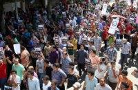 В Египте тысячи сторонников Мурси вышли на акции протеста