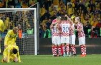 Украина уступила Хорватии в решающем матче отбора ЧМ