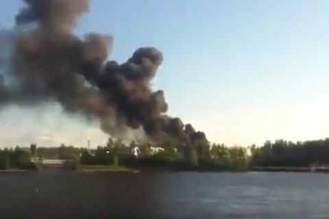 В России загорелся военный корабль (обновлено)