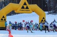 Дивовижне поруч: змішана естафета на чемпіонаті України з біатлону пройшла без стрільби