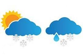 В первой половине недели ожидаются мокрый снег и заморозки