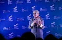 Тимошенко: медицинское страхование обеспечит качественное лечение, врачам - достойные зарплаты