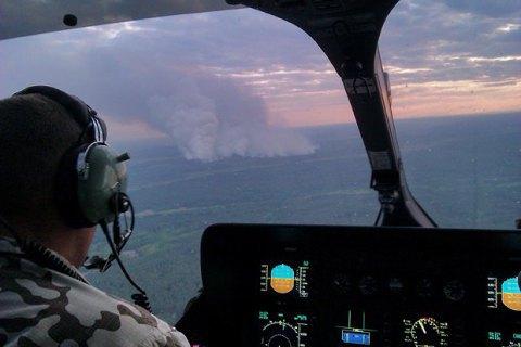 Пожежа в Чорнобильській зоні не позначилася на рівні радіації в Києві й області