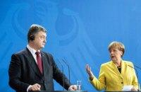 Меркель розповіла Порошенкові про розмову з Путіним