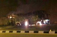 В Таиланде более 20 мигрантов из Мьянмы сгорели в автобусе