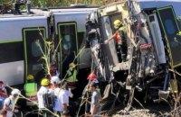 В Португалии столкнулись поезд и автомобиль, десятки пострадавших