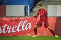 Роналду став першим європейським футболістом, який забив 100 голів за збірну