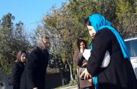 Людмилу Янукович заметили на кладбище в Севастополе в годовщину смерти сына