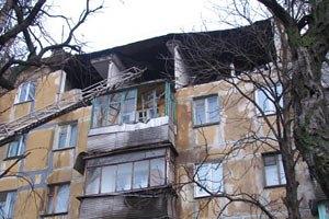 Милиция начала расследование взрыва в жилом доме в Стаханове